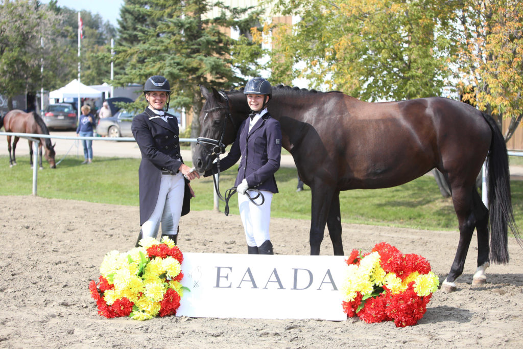 Kathryn Robinson Wins 2018 Dressage Award of Excellence